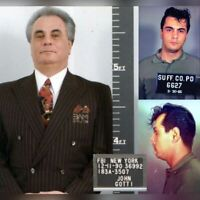 JOHN GOTTI MUG SHOT FBI WANTED POSTER 8X10 PHOTO MAFIA MOB MOBSTER GANG GANGSTER