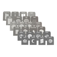 Gobo Complete Kit for EF/Mount Optical Snoot Spot Projector 24 Designs Patterns