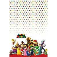 SUPER MARIO BROS PLASTIC TABLECOVER BIRTHDAY PARTY SUPPLIES