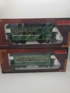 Piko Outdoor & Indoor Southern Railways Passanger Coach &  Combine Car
