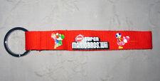 Nintendo Wii Super Mario Bros. Schlüsselband Lanyard NEU (A53v)