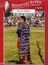 Missouri River Native American Indian Women's Jingle Dress Sewing Pattern S-XL