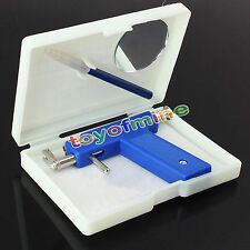 Professional Steel Ear Nose Navel Body Piercing Gun  Studs Tool Kit Set