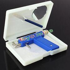 Professional Steel Ear Nose Navel Body Piercing Gun  Studs Tool Kit Set