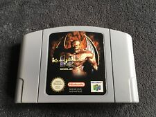 Jeu Nintendo 64 Killer Instinct Gold Très Bon état et Fonctionnel