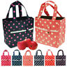 Office School Lunch Bag Portable Recycled Insulated Thermal Cooler Tote Picnic