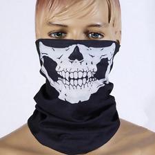 Halloween Props Skeleton Ghost Skull Face Mask Biker Balaclava Half Face Bandana