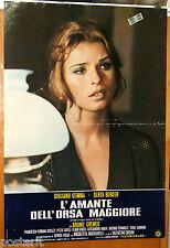 soggettone film L'AMANTE DELL'ORSA MAGGIORE Senta Berger 1971