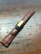 Cinturino Originale IWC Alligatore Marrone 19/16  Original Brown Alligator Strap