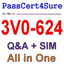 VMware Certified Advanced Professional 6.5 VCAP6.5-DCV 3V0-624 Exam Q&A PDF+SIM