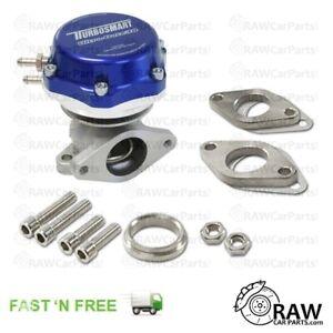 [Blue] Turbosmart Ultragate Style 38mm 2 Hole 7 PSI (0.5 BAR) External Wastegate
