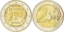 [#84995] Allemagne, Lot 5 x 2 Euro Traité de l'Elysée 2013 A D F G J