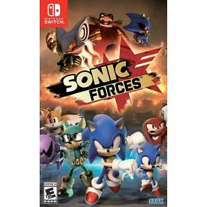 Sonic Forces NINTENDO SWITCH New and Sealed