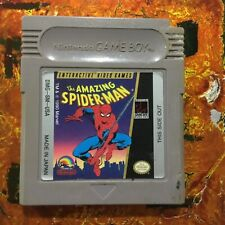 The Amazing Spider-Man Original Nintendo Gameboy Clean Tested Authentic