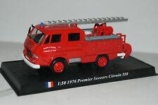 Del prado voiture miniature 1:50 1976 premier secours CITROEN 350