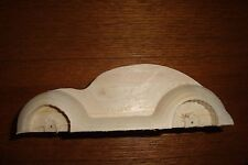 Pinewood Derby Pre-cut, #140-6, New VW Beatle, The Fat Fender Series