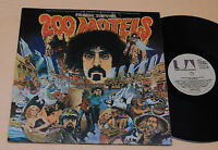 Zappa: 2LP-MOTELS-1° St Orig Italy 1971 Foc Laminated EX