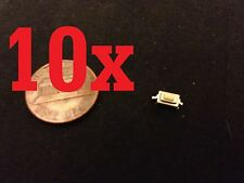 10x SMT 2.5 Tactile Push Button Micro Switch Momentary Two Pin A10
