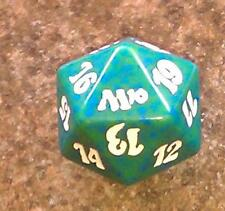 1 Green SPINDOWN Die m10 - 20 sided Spin Down Dice MtG Magic the Gathering