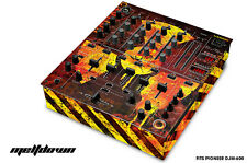 Skin Decal Wrap for PIONEER DJM-600 DJ Mixer CD Pro Audio DJM600 Parts  MELTDOWN