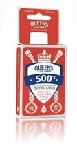 RED 500's Queen's Slipper Playing Cards Casino Quality Deck w/points game rules