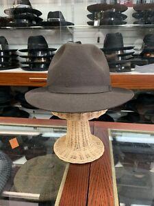 Borsalino Napoli Men's Fedora Hat Made In Italy Size 61. 7 5/8