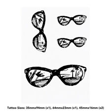 'Sunglasses Reflection' Temporary Tattoos (TO015572)