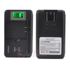 Universal Cell Phones/Camcorder/Mobile Battery Charger - LCD Screen -LATEST SS-5