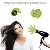 Pro Plastic Hand Shape Hair Dryer Diffuser Salon Hairdressing Curly Styling Tool