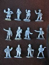 CALL OF CTHULHU ,GOTHIC HORROR, CHARACTERS, GRENADIER, UNPAINTED ,MULTI-LISTING