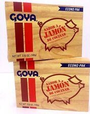 GOYA SABOR A JAMON DE COCINAR - HAM FLAVOR CONCENTRATE  3.52 OZ  2 PACK