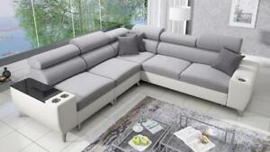 Brand New Corner Sofa Bed With Storage Modivo III