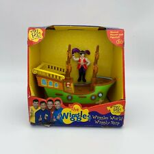 The Wiggles CAPTAIN FEATHERSWORD PIRATE SHIP w/ Captain Feathersword figure ~NEW
