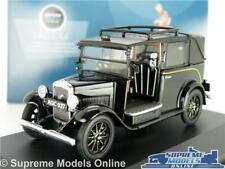 AUSTIN LONDON TAXI MODEL CAR CAB LOW LOADER BLACK 1:43 SCALE OXFORD AT001 K8
