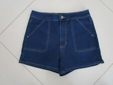 Riders by Lee Ladies High Cheeky Super Stretch Denim Shorts   Size 16