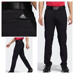 NEW! Adidas 5-Pocket S Golf Pants- Black- Multiple Sizes