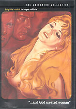 ...And God Created Woman (DVD, 2000, Criterion Collection)