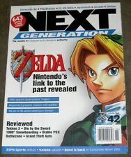 Next Generation Game Magazine #42 June 1998 Zelda Link to the Past Cover