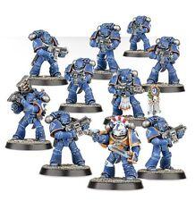10 Space Marine Tactiques - WARHAMMER 40000 BITZ 40K Horus Heresy Calth