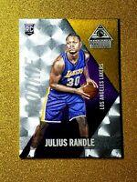 2014-15 PANINI PARAMOUNT JULIUS RANDLE ROOKIE DUFEX /25 GOLD RC # 82 GEM MINT SP
