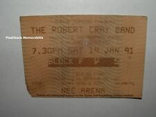 ROBERT CRAY BAND 1991 Concert Ticket Stub NEC ARENA BIRMINGHAM UK Memphis Horns