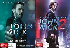 John Wick 1 + 2 : NEW DVD