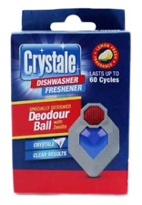 Crystale Dishwasher Freshener Clip On Deodour Ball Lasts Up to 60 Cycles