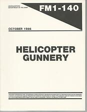 Helicopter Gunnery (Guidance on weapons, aircraft, ballistics, training)