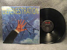 33 RPM LP Record Defenestration Dali Does Windows 1987 Relativity 88561-8142-1
