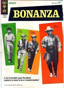 BONANZA #6 (1964) Gold Key Comics TV western -NO RESERVE!