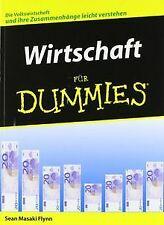 Wirtschaft für Dummies von Flynn, Sean Masaki   Buch   Zustand gut