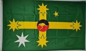 Australian alternate design flag   1500mmx900mm  flagpole 100D Polyester printed