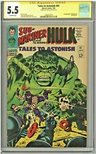 Tales to Astonish #81 CGC 5.5 SS Stan Lee Signed & Story 1st app Boomerang 1966