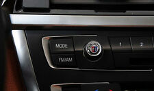 12mm Car Radio button emblem Sticker Badge Decals Decoration ALPINA Fit For BMW